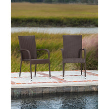 PATIO SENSE  Morgan Outdoor Wicker Chair 4-Pack - Fireplace Features