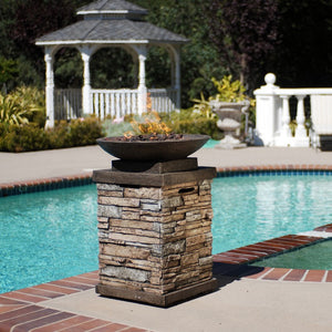 Newcastle 20Lb Gas Firebowl - Bond Mfg - 63172 - Fireplace Features