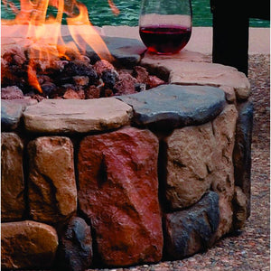 Petra Gas Fire Pit - Bond Mfg - 66600 - Fireplace Features