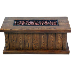 Asheville Fire Table - Bond Mfg - 67808A - Fireplace Features