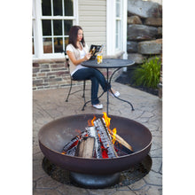 "OHIO FLAME 30"" Patriot Fire Pit - Fireplace Features"