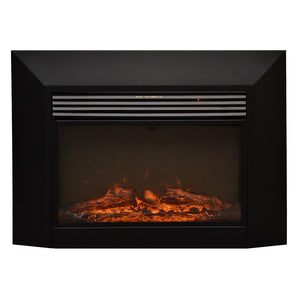 "TOUCHSTONE INGLESIDE   28"" Firebox Insert Black Wallmount Fireplace"