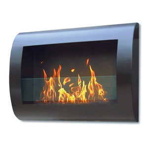 "ANYWHERE FIREPLACE CHELSEA 27.5"" Bio-Ethanol Wallmount Fireplace - Fireplace Features"
