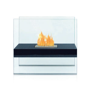 "ANYWHERE FIREPLACE MADISON 27.5"" Bio-Ethanol Freestanding Fireplace - Fireplace Features"
