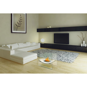 "ANYWHERE FIREPLACE BROADWAY 23.5"" Bio-Ethanol Freestanding Fireplace - Fireplace Features"