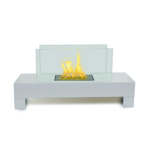 "ANYWHERE FIREPLACE GRAMERCY 31.5"" Bio-Ethanol Freestanding Fireplace - Fireplace Features"