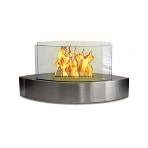 "ANYWHERE FIREPLACE LEXINGTON 19.5"" Bio-Ethanol Tabletop Fireplace - Fireplace Features"