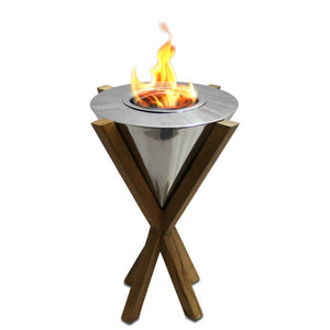 "ANYWHERE FIREPLACE SOUTHAMPTON - TABLE TOP 10"" Bio-Ethanol Tabletop Fireplace - Fireplace Features"