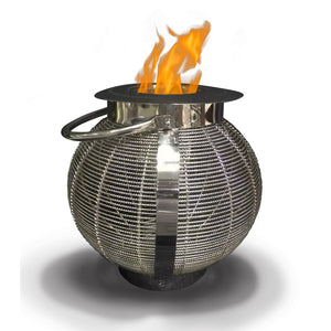 "ANYWHERE FIREPLACE JUPITER 10"" Bio-Ethanol Lantern - Fireplace Features"