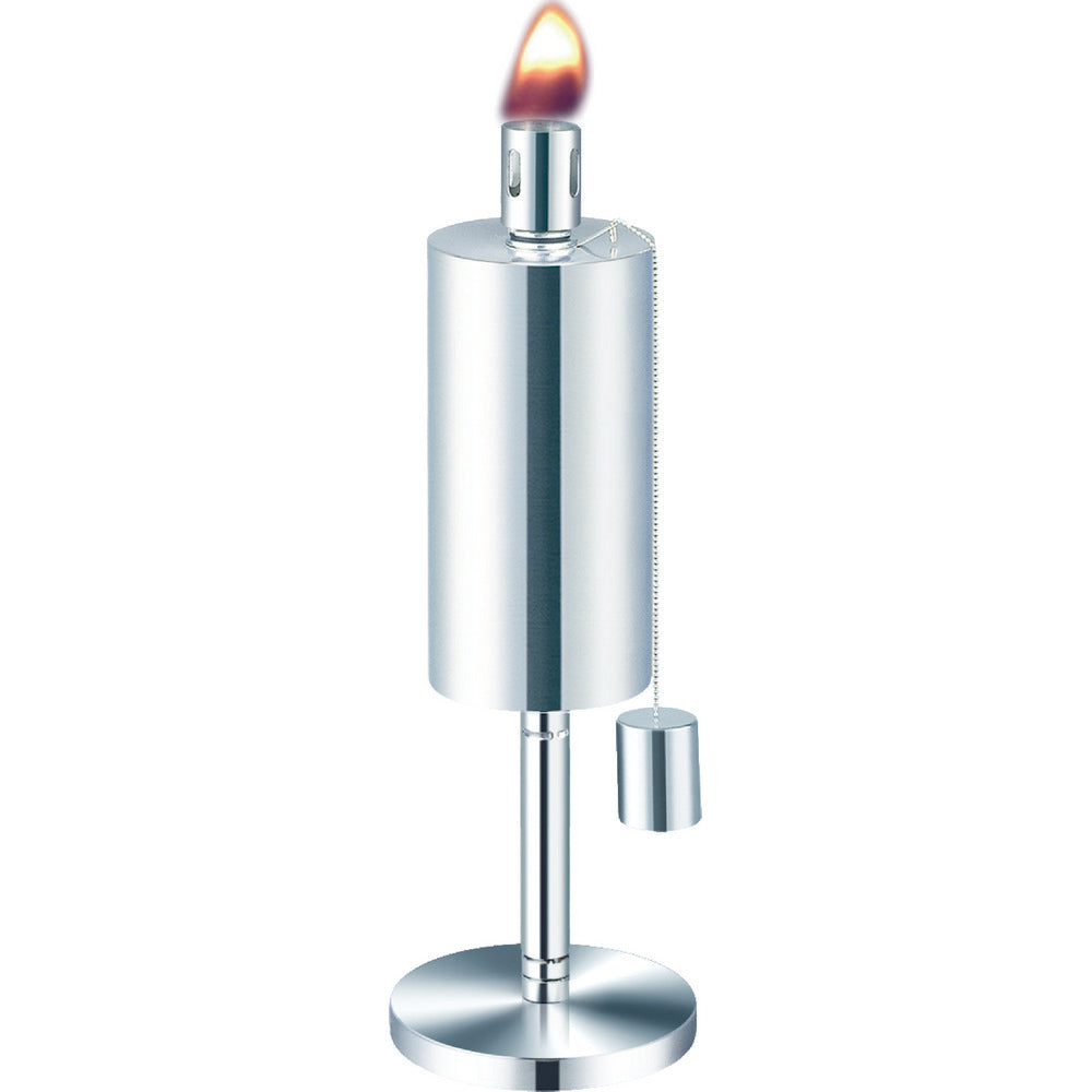 ANYWHERE FIREPLACE CYLINDER TABLE TOP TORCH 10.5 inches tall