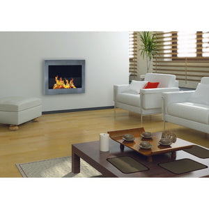"ANYWHERE FIREPLACE SOHO 27.5"" Bio-Ethanol Wallmount Fireplace - Fireplace Features"