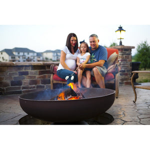 "OHIO FLAME 24"" Patriot Fire Pit - Fireplace Features"