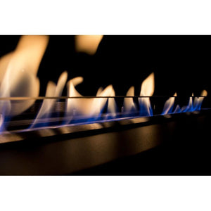 "23.5"" Bloc Ethanol Fireplace Burner Insert with Black Fuego Box - Bio-Blaze - BB-B60L-FB - Fireplace Features"