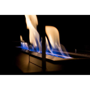 "BIO-BLAZE BURNER 23.5"" Bloc Ethanol Fireplace Burner Insert with Black Fuego Box - Bio-Blaze - BB-B60L-FB - Fireplace Features"