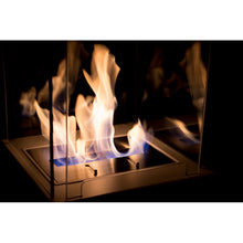 Column Small Freestanding Ethanol Fireplace - BB-CS - Bio-Blaze - Fireplace Features