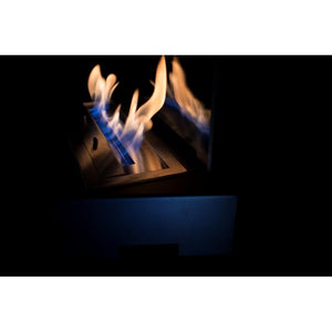 "BIO-BLAZE DESIGN TABLE 21½"" Freestanding Bio-Ethanol Fireplace - Fireplace Features"