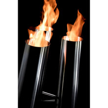 Pipes Small Freestanding Ethanol Fireplace - BB-PS - Bio-Blaze - Fireplace Features