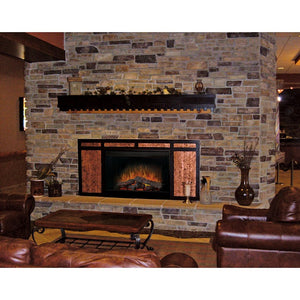 "Dimplex Firebox 45"" Built In Fireplace, Deluxe (Brick Effect) W/ Purifire - Fireplace Features"