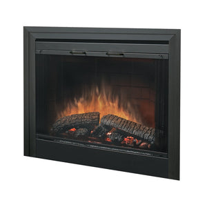 "Dimplex 39"" Bi-Fold Look Glass Door For Dimplex BF39DXP 39"" Built-In Firebox - Fireplace Features"