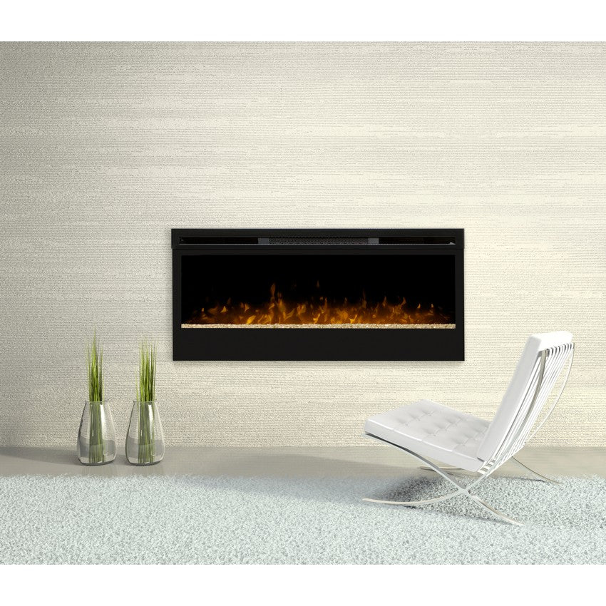 """Dimplex Galveston 50"""" Wall Mount Electric Fireplace - Fireplace Features"""