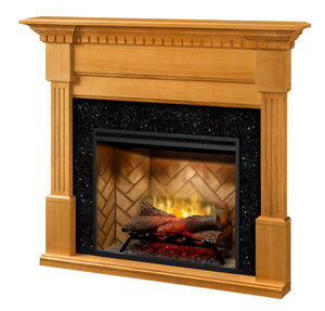 Dimplex Christina Mantel Black Granite Surround - Fireplace Features