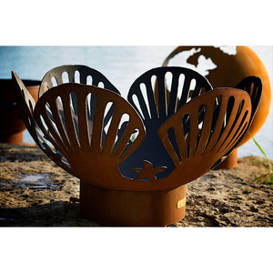 "FIRE PIT ART BAREFOOT BEACH 42"" Fire Pit - Fireplace Features"