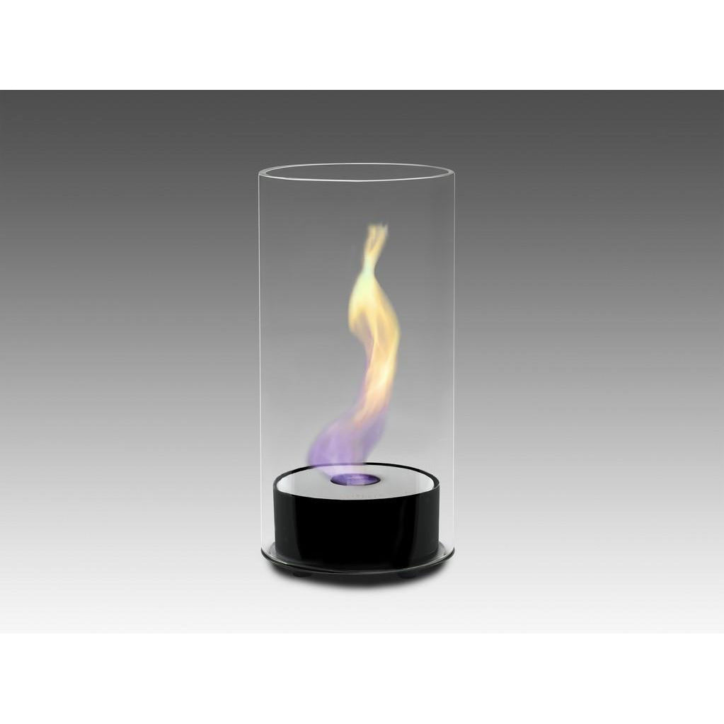 Juliette Tabletop Bio-Ethanol Fireplace - Gloss Black ECO-FEU TT-00101-GB - Fireplace Features