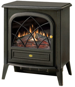 Dimplex Compact Electric Stove - Fireplace Features