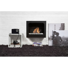 "BIO-BLAZE COLUMBUS 23½"" Wall Mounted Ethanol Fireplace - Fireplace Features"