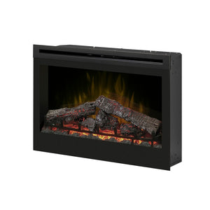 "Dimplex 33"" Electric Log Firebox Insert - Fireplace Features"