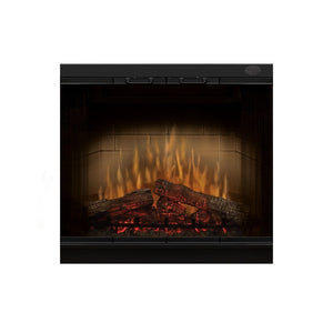 "Dimplex 32"" Multi-Fire Electric Log Firebox Insert - Fireplace Features"