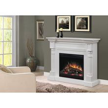 Dimplex Winston Mantel Electric Fireplace With Logs - Fireplace Features
