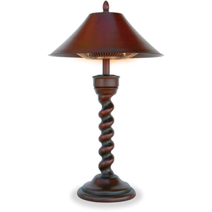 "Table Lamp Electric Heater ""New Orleans""� EWUR800B Mr BBQ - Fireplace Features"