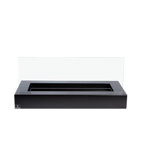 "31.5"" Bloc Adjustable Ethanol Fireplace Burner (no lip) with Black Fuego Box - Bio-Blaze - BB-B80-FB - Fireplace Features"