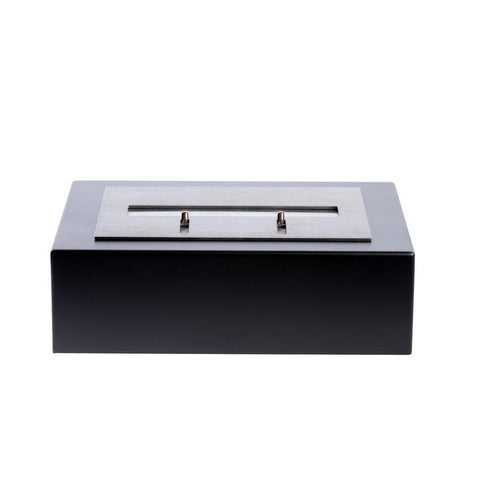 "11.5"" Bloc 2 Qt Ethanol Fireplace Burner Insert with Fuego Box - Bio-Blaze - BB-B2L-FBB - Fireplace Features"