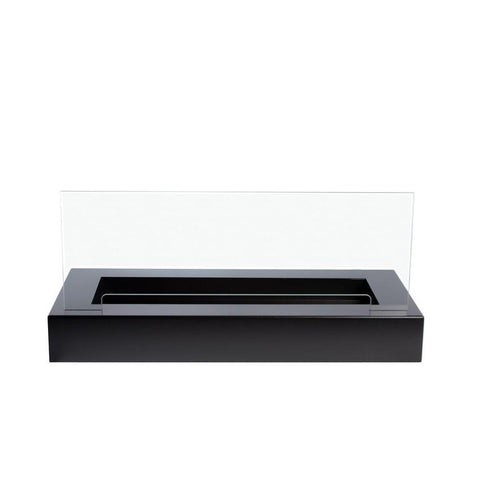 "23.5"" Bloc Adjustable Ethanol Fireplace Burner (no lip) with Black Fuego Box - Bio-Blaze - BB-B60-FB - Fireplace Features"