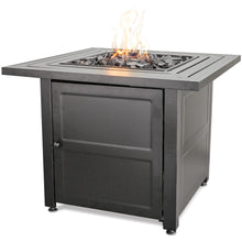 Lp Gas Outdoor Firebowl With Steel Mantel GAD1423M Mr BBQ - Fireplace Features