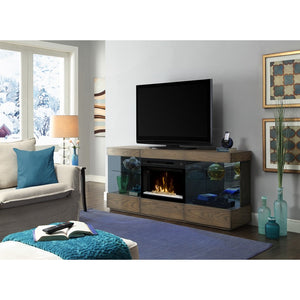 Dimplex Axel Media Console Electric Fireplace Series - Fireplace Features