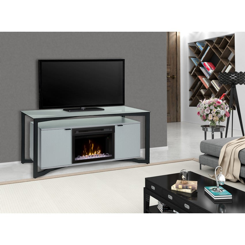 Dimplex Christian Media Console Electric Fireplace Series - Fireplace Features