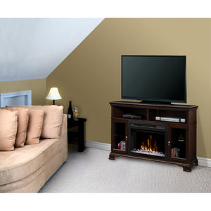 Dimplex Brookings Media Console Electric Fireplace Series - Fireplace Features