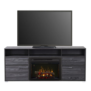Dimplex Sander Media Console Electric Fireplace Series - Fireplace Features