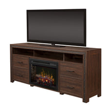 Dimplex Thom Media Console Electric Fireplace Series - Fireplace Features