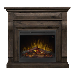Dimplex Samuel Mantel Electric Fireplace With Logs - Fireplace Features