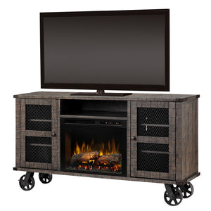 Dimplex Duncan Media Console Electric Fireplace Series - Fireplace Features