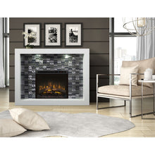 Dimplex Crystal Mantel Electric Fireplace Series - Fireplace Features