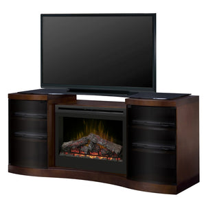 Dimplex Acton Media Console Electric Fireplace Series - Fireplace Features
