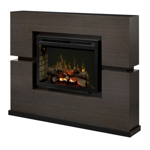 Dimplex Linwood Mantel Electric Fireplace - Fireplace Features