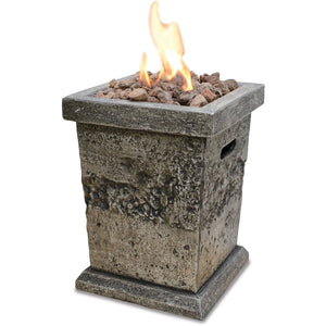 Lp Gas Outdoor Fire Column - Small GLT17333SP Mr BBQ - Fireplace Features