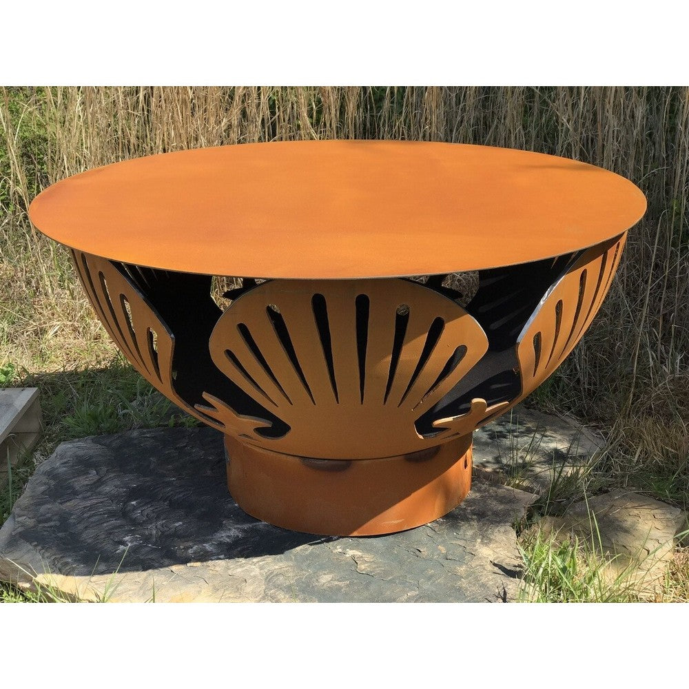 FIRE PIT ART STEEL TABLE TOP43  43
