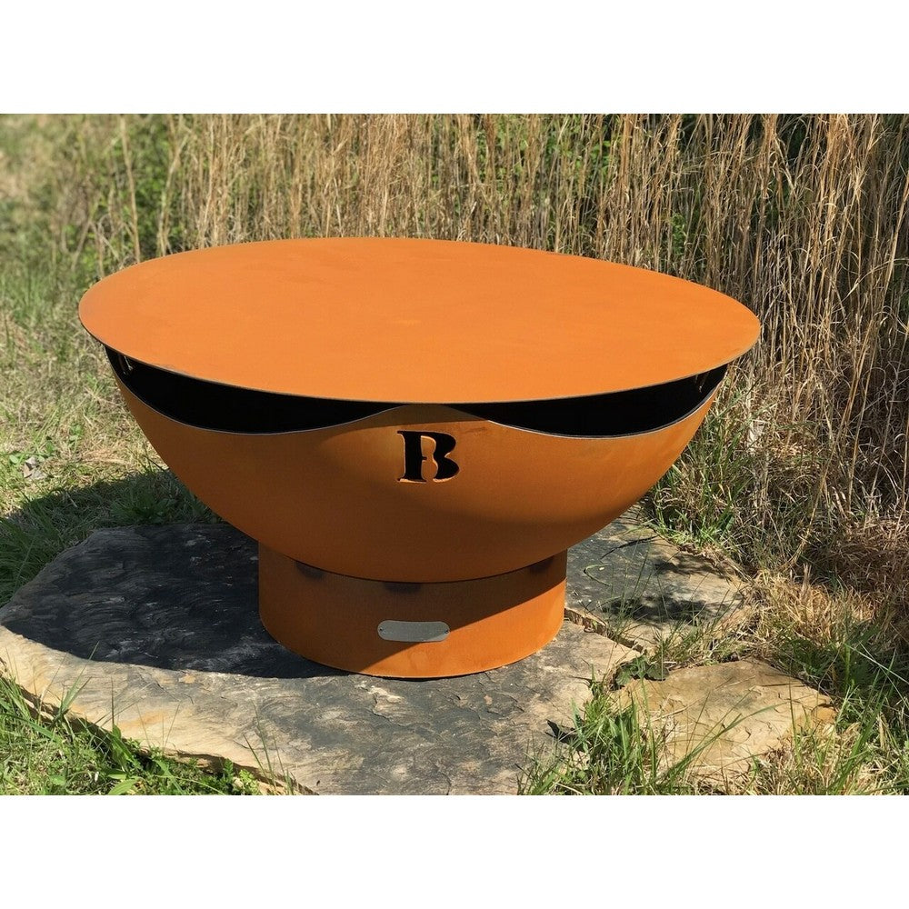 FIRE PIT ART STEEL TABLE TOP40  40